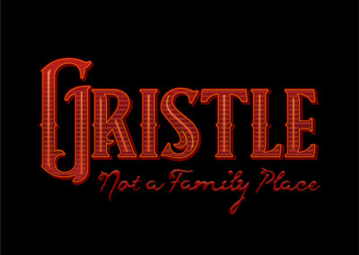Gristle logo amped